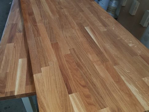 Walnuss Finger Joint Leimholzplatte, Walnut finger joint glued wood panel Imperius woodtrading