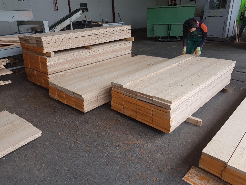 edged oak boards besäumte Eichenbretter - Imperius