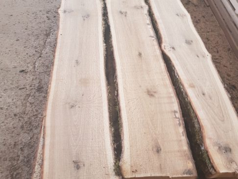 Unedged Rustic Oak
