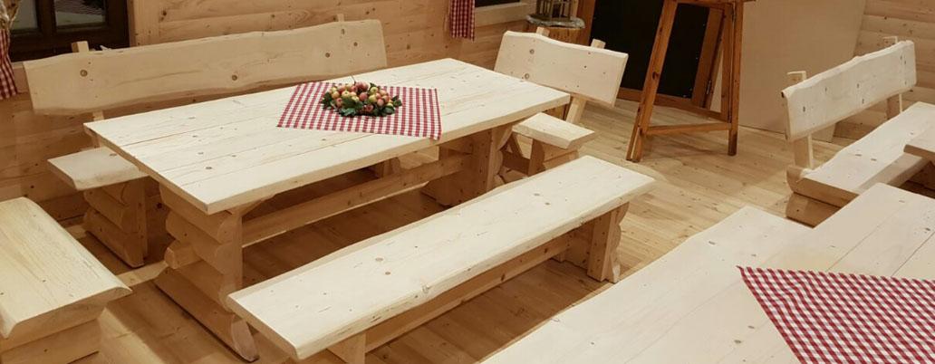 rustikale Gastronomiemöbel rustic restaurant furniture