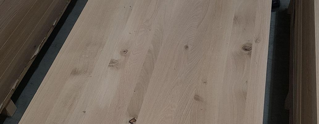 oak laminated wood plate Eichenleimholzplatte