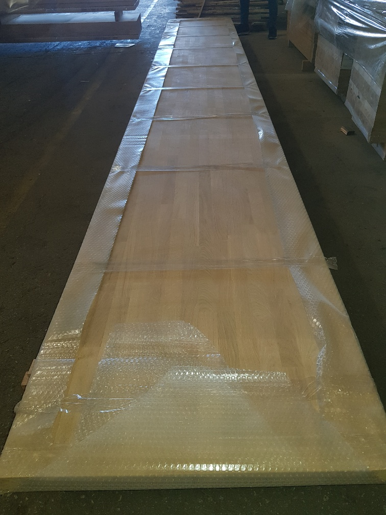 finger jointed oak laminated hardwood panels, Eiche Leimholzplatte