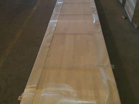 glued laminated oaktimber, Eiche Leimholzplatte - Imperius woodtrading