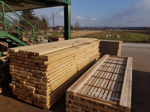 Oak Square Timber, Eichen Kantholz - Imperius Woodtrading